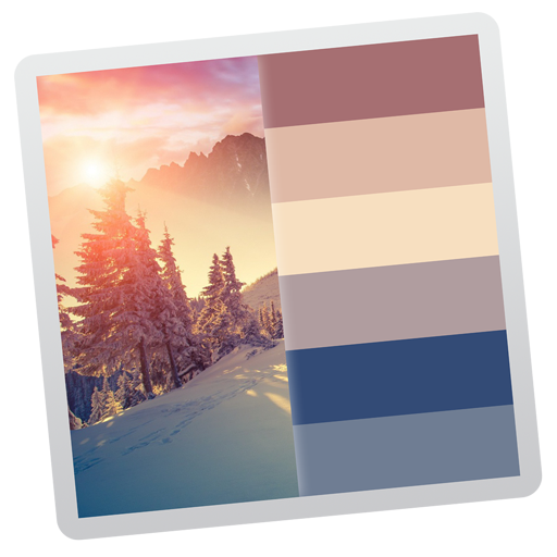 Color Palette From Image Application Icon