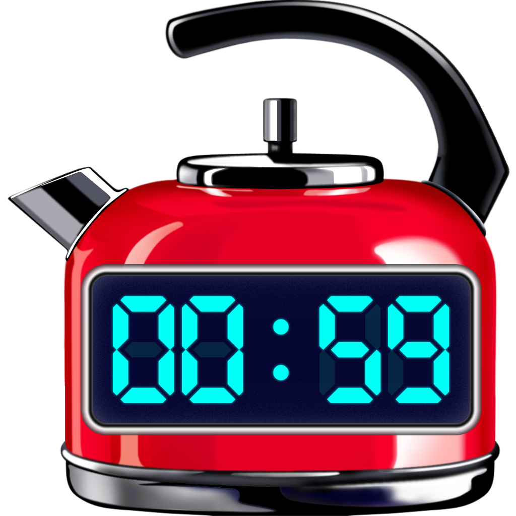 Red Hot Timer Application Icon